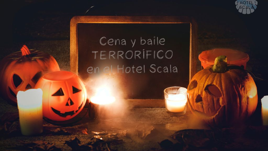 Live a terrifying night in Padrón with the Halloween dinner in the Hotel Scala